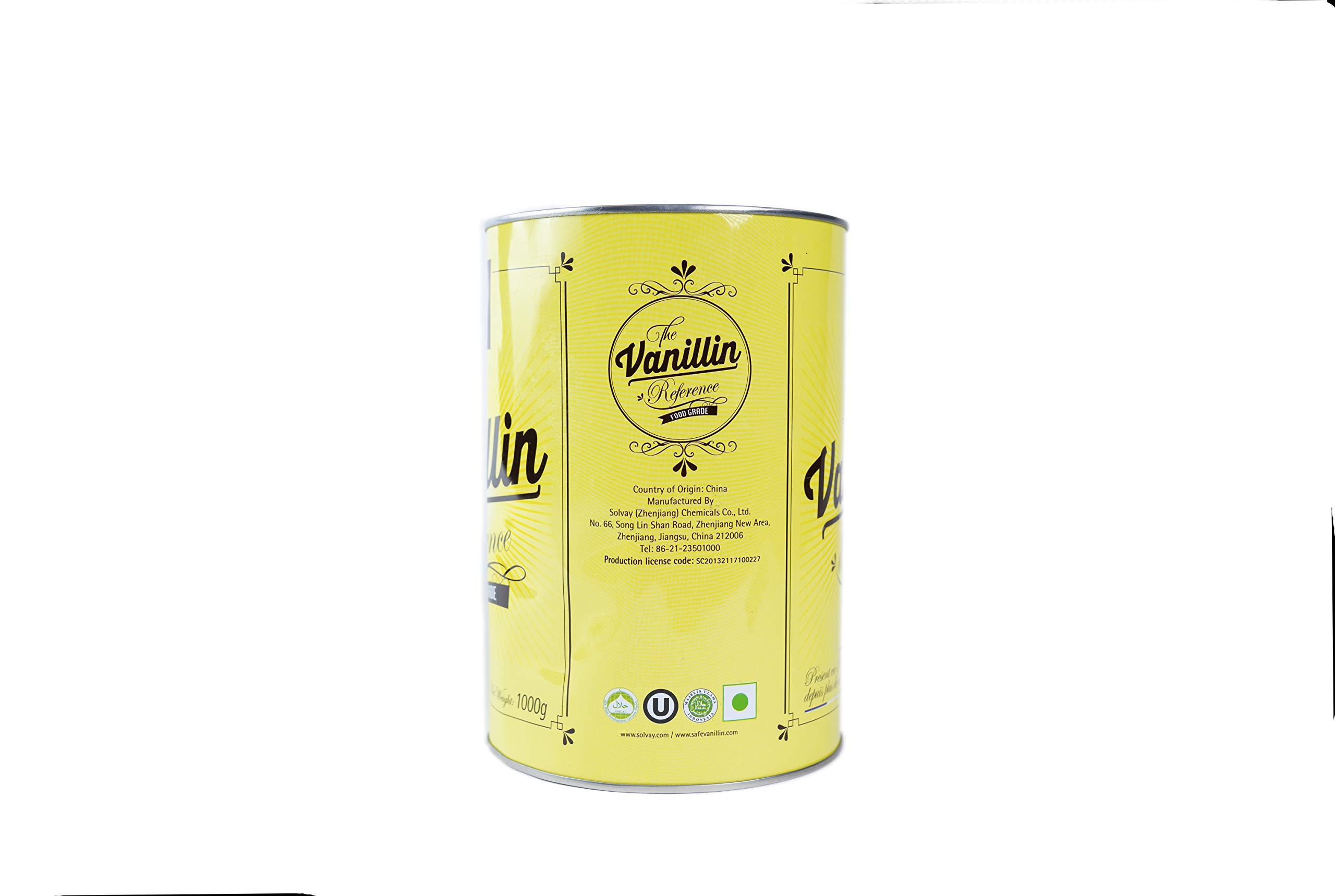 Vanillin Powder Rhovanil 1kg by Solvay Rhovanil Vanillin (Image #4)