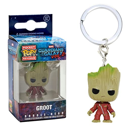 4 opinioni per Funko 13291 Pocket POP! Keychain Marvel Guardians O/T Galaxy 2 Ravager Groot