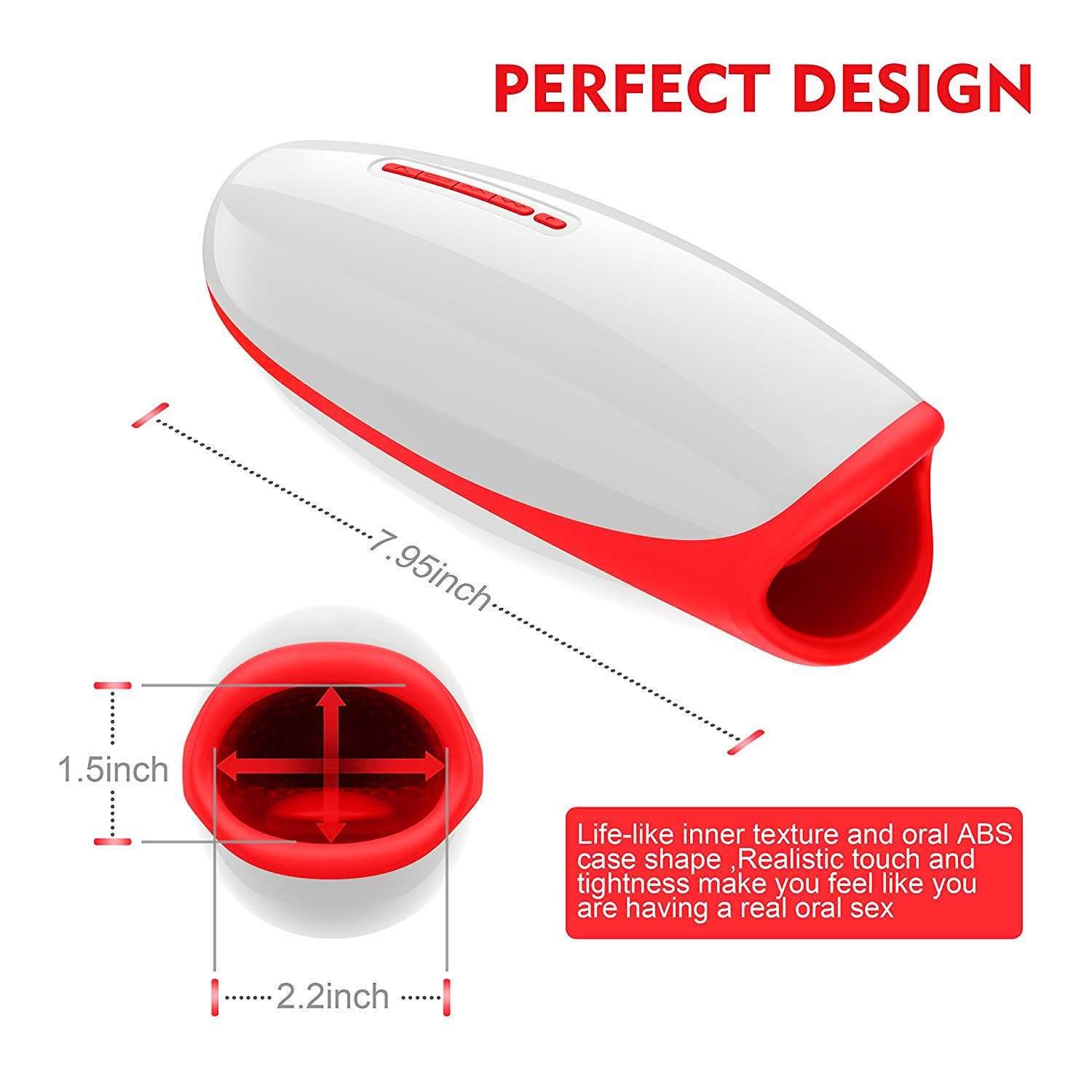 Yunzong Voice Interaction M āle āutómatic Piston Cup Sucking 400 Times/Min and Heating Electronic M āssage Cup M āle's Toy