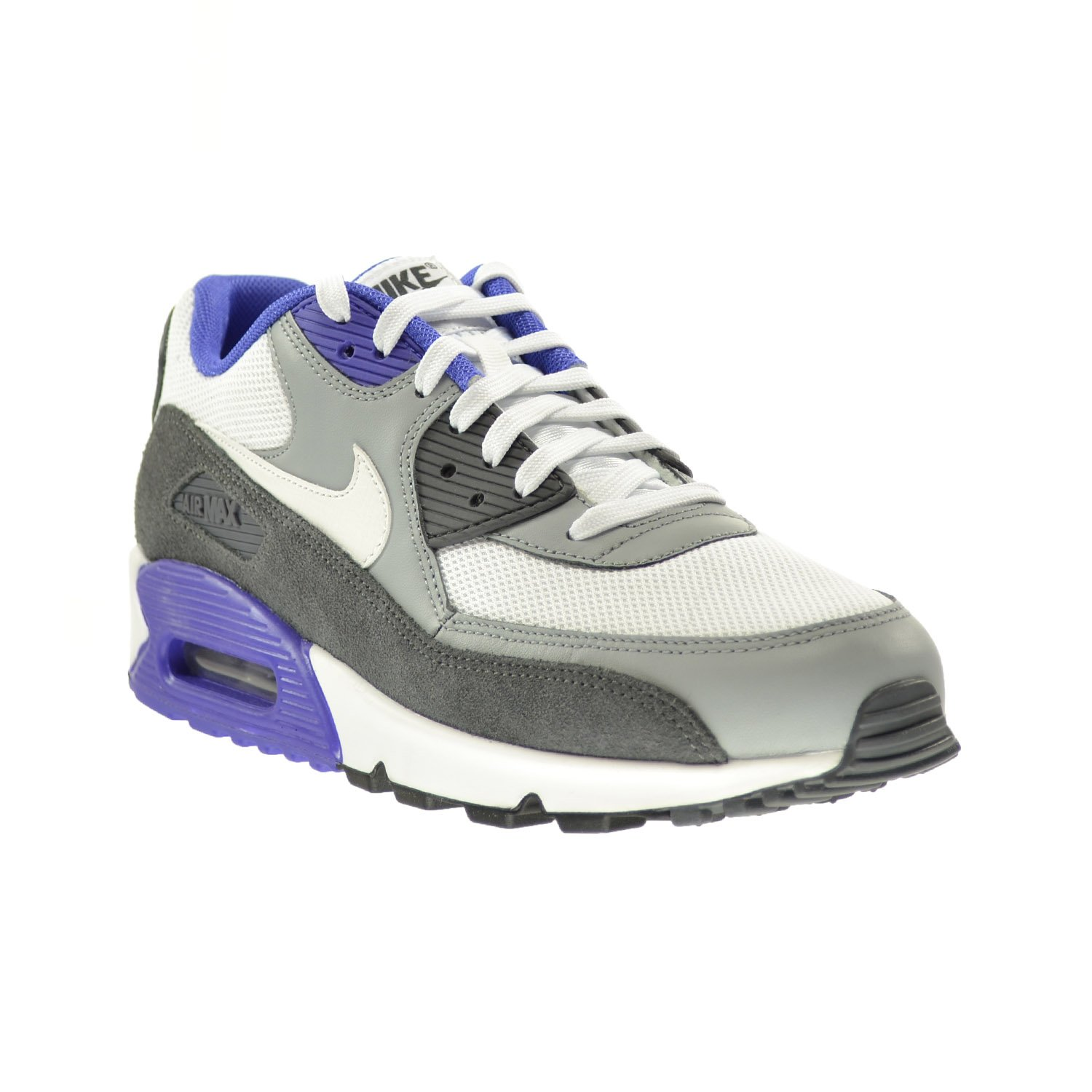 uk availability a2e19 0eec4 ... promo code for amazon nike air max 90 essential mens shoes white white  silver dark grey