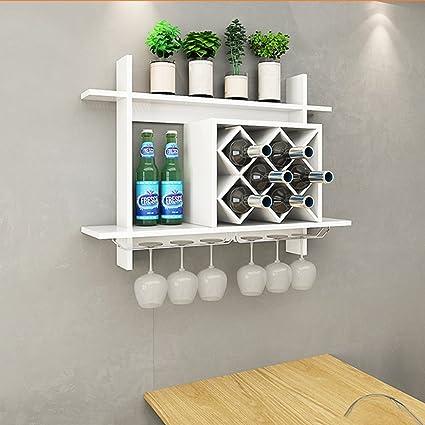 Amazon Com Wall Mounted Wine Racks Simple European Style Wall