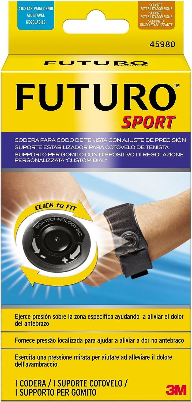 Futuro Sport - Codera para codo de tenista con ajuste de precisión