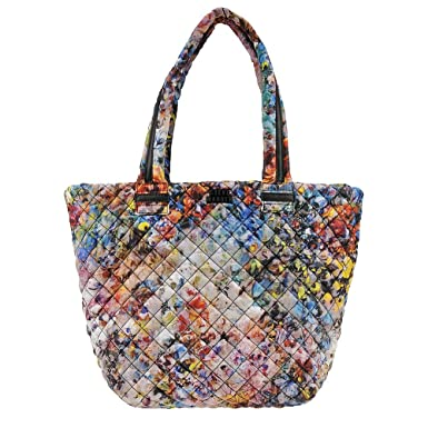 Amazon Steve Madden Roverr Quilted Tote Patterns White Multi