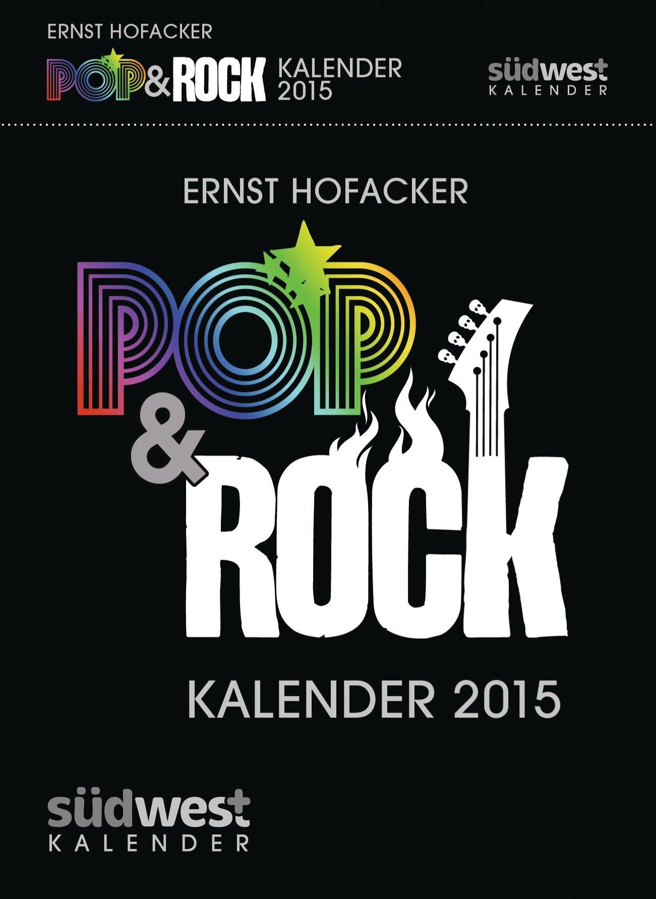 Pop & Rock Kalender 2015 Textabreißkalender