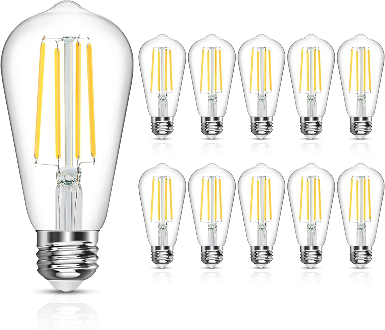 LANGREE Vintage LED Edison Bulb Wh Equivalent 60W Sale SALE% OFF 6W Daylight Translated