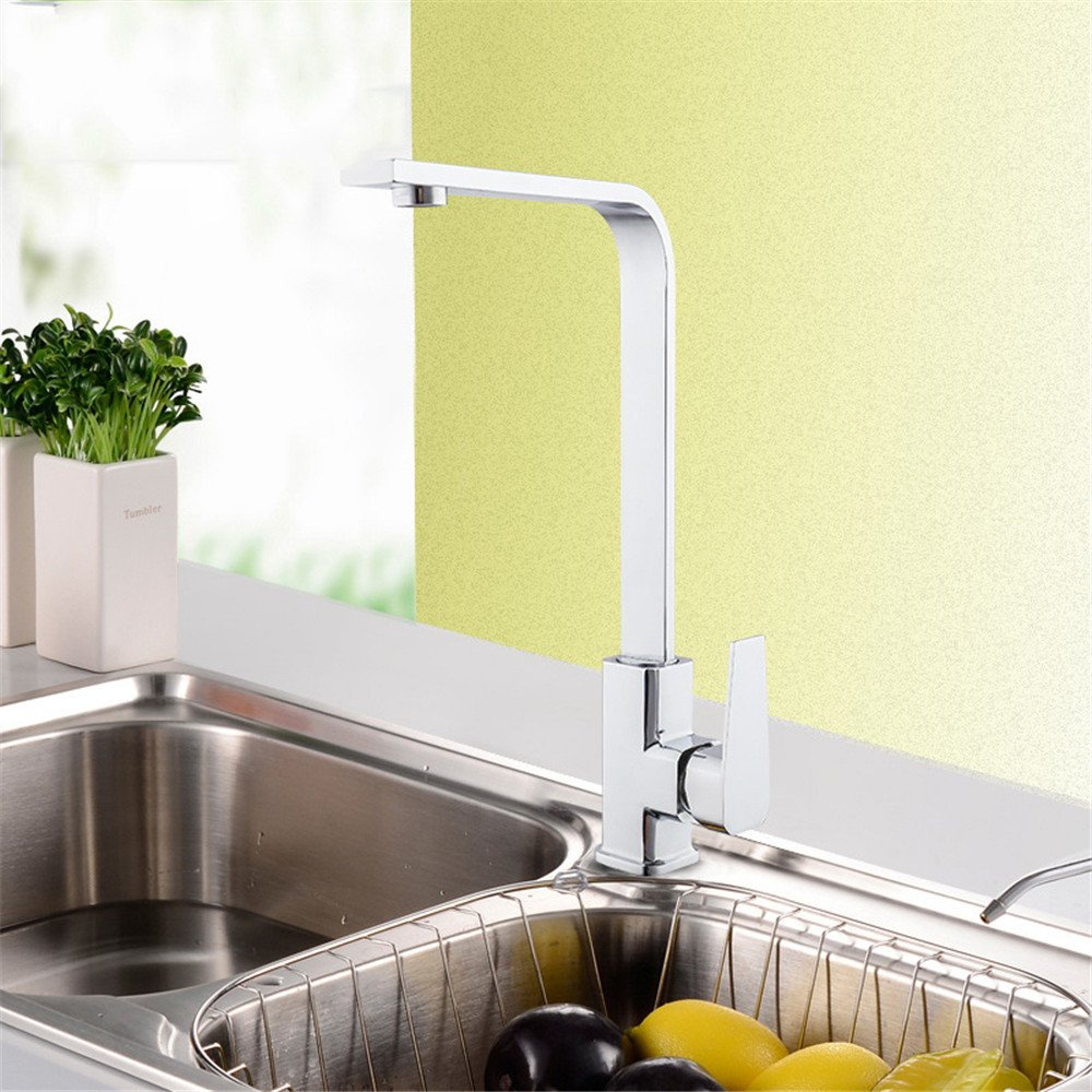 TYAW-SHOP The quartet faucet single hole kitchen sink kitchen hot and cold A