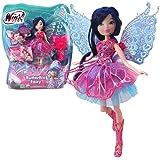 Winx Club - Butterflix Fairy - Musa Poupée 28cm avec magique Robe