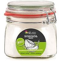 Aceite puro de coco virgen extra orgánico mituso