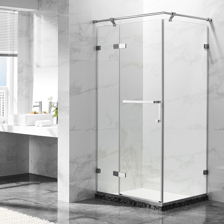 deluxes 192201 cabinas de ducha 100 x 80 x 195 cm, para esquina de ...