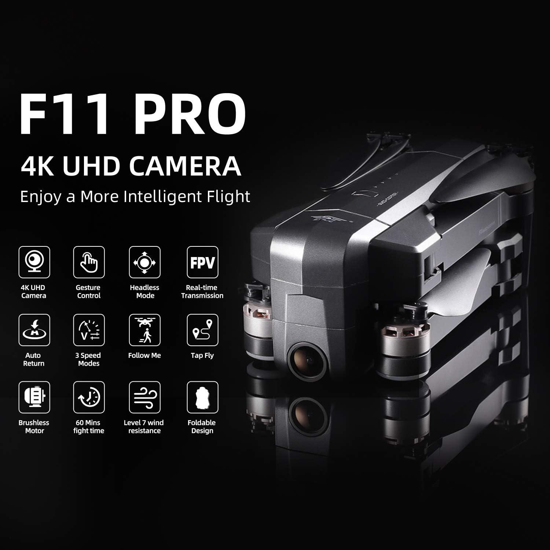 Ruko F11 Pro is best 4k camera drone under $300
