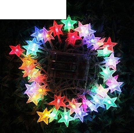 amazon com outdoor led battery light carnival light chain