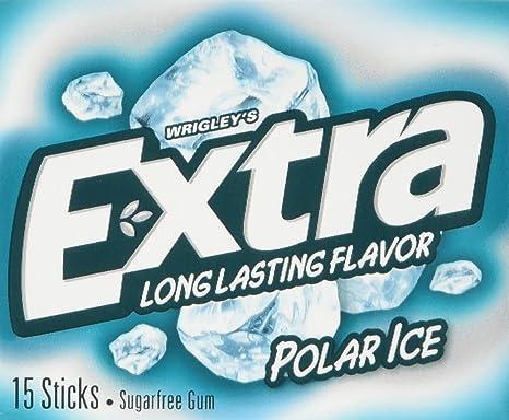 Wrigleys extra polar ice gum 15 stick 405 g pack of 5 amazon wrigleys extra polar ice gum 15 stick 405 g pack of 5 altavistaventures Images