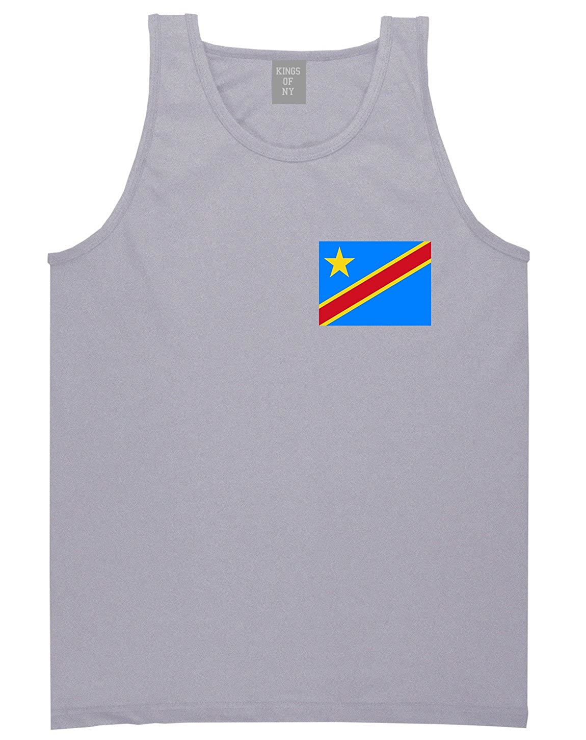 congo Flag Country Chest Tank Top Shirt