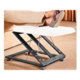 FiNeWaY@ NEW COMFORTABLE HEIGHT & ANGLE ADJUSTABLE FOOTREST FOOT STOOL LEG REST SUPPORT RELAX