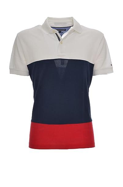 Tommy Hilfiger WCC Caleb Colourblock Polo S/s RF, Multicolor ...