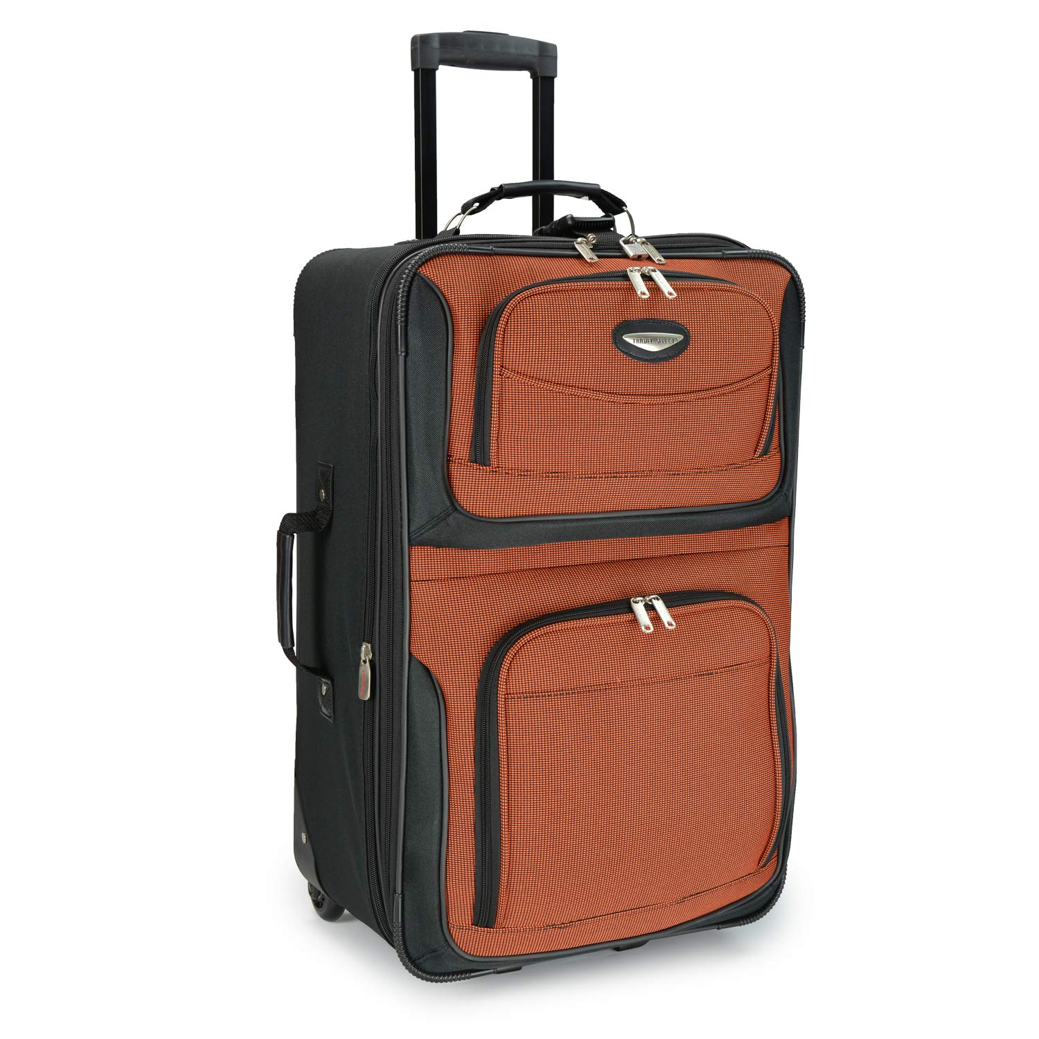 Travel Select Amsterdam 25'' Expandable Rolling Upright Luggage, Orange by Travel Select