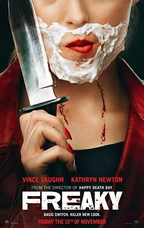 Amazon.com: Freaky - Movie Poster Wall Decor - 18 by 28 inches. (NOT A  DVD): Posters & Prints