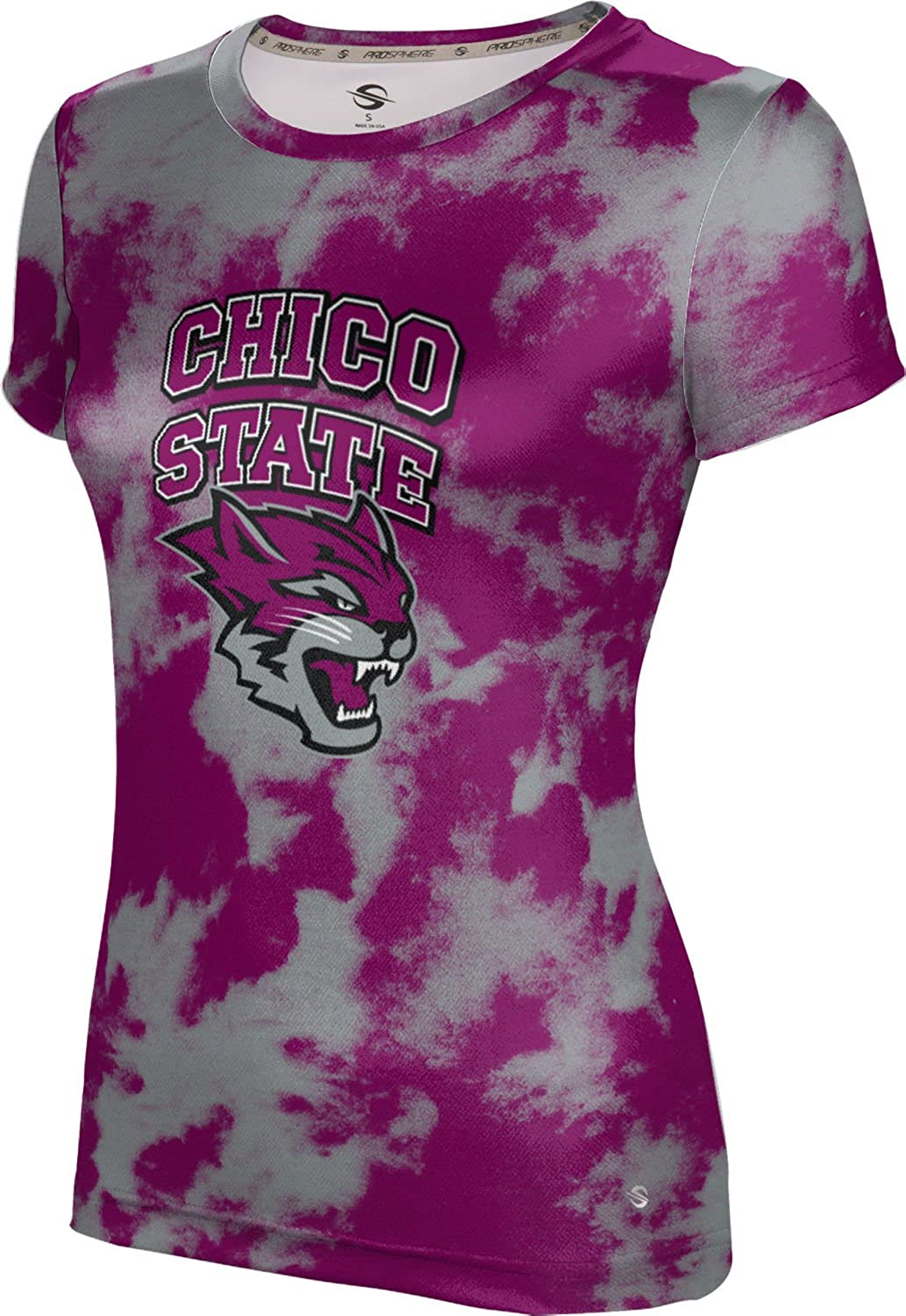 Grunge ProSphere California State University Chico Girls Performance T-Shirt