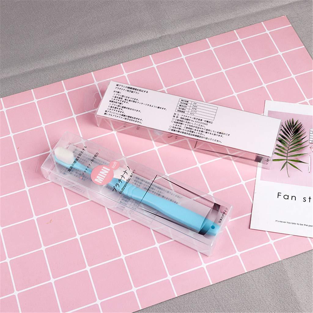 Micro-Nano Brosse /à Dents Poilue Soies Souples pour Le Soin des Gencives FBGood Brosse /à Dents Extra Douce pour Gencives Extra-sensibles Brosse /à Dents Extra Douce pour Gencives Sensibles
