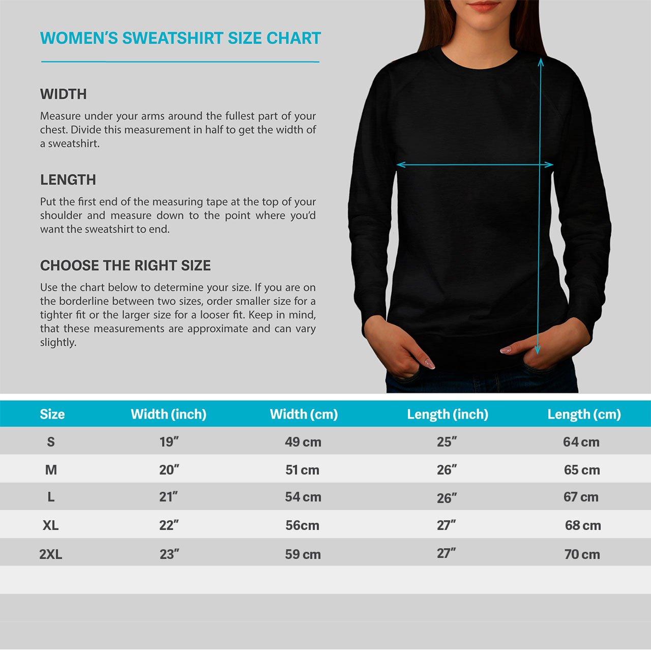 Wellcoda Hippocampe Fleurs Animal Femme Sweat-Shirt 0/ Pull Occasionnel Pull