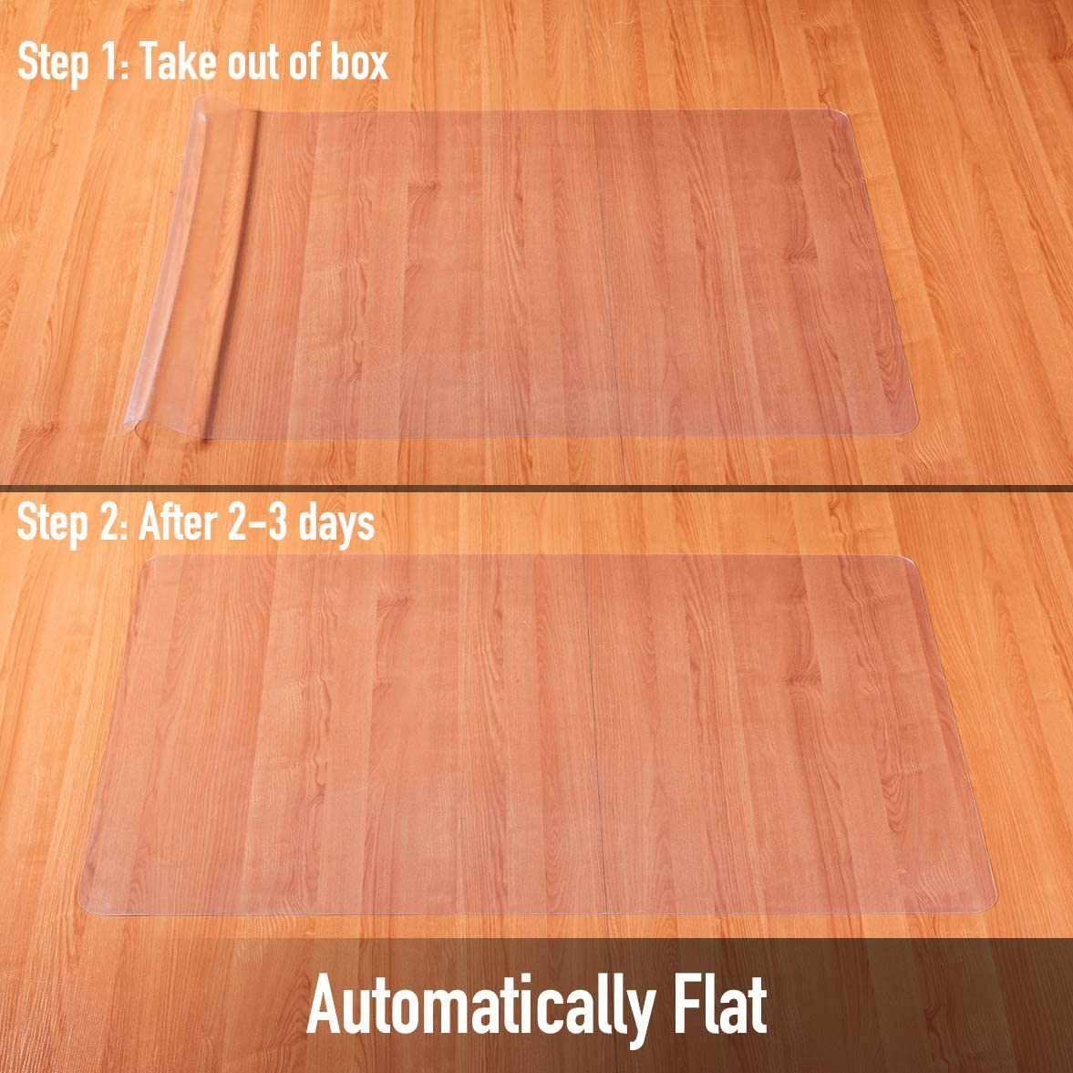 Floor Protectors for Office Chairs Office Mats for Rolling Chairs Office Chair Mat Office Mat Desk Chair Mat 35/×47-1mm Thick Chair Mat for Hardwood Floor