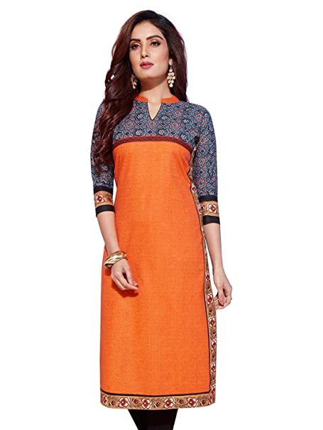 Jevi Prints   Pack of 3 Women's Unstitched Lawn Cotton Printed Kurti Fabrics  Fabrics only for Top  Ethnic Wear