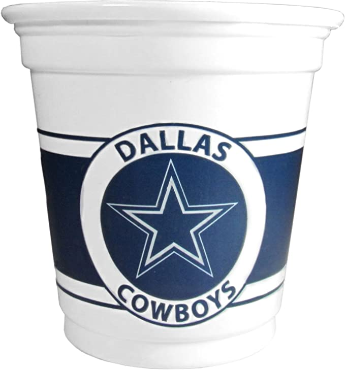 Plastic Game Day Cups with NFL logo
