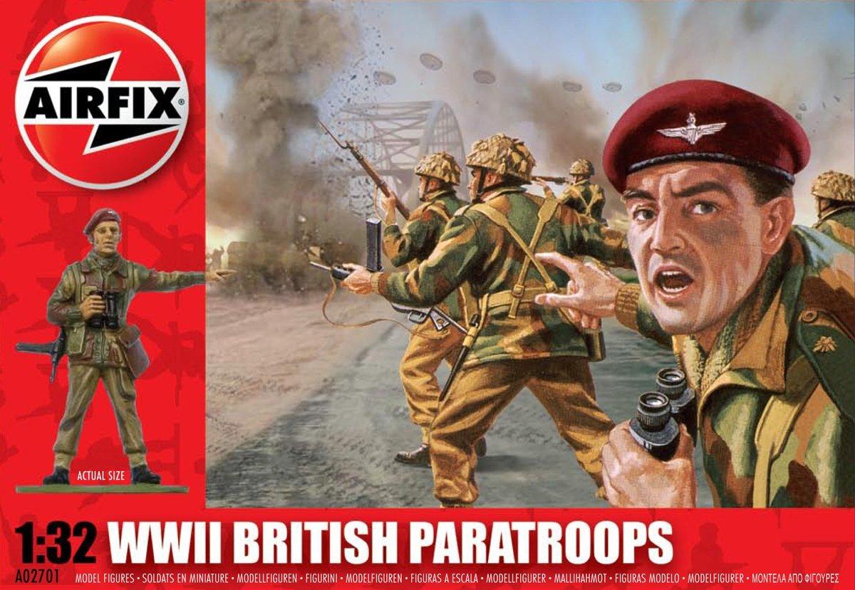 Airfix A02701 Modellbausatz WWII British Paratroops
