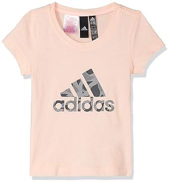 adidas Logo Camiseta, Niñas: Amazon.es: Ropa y accesorios