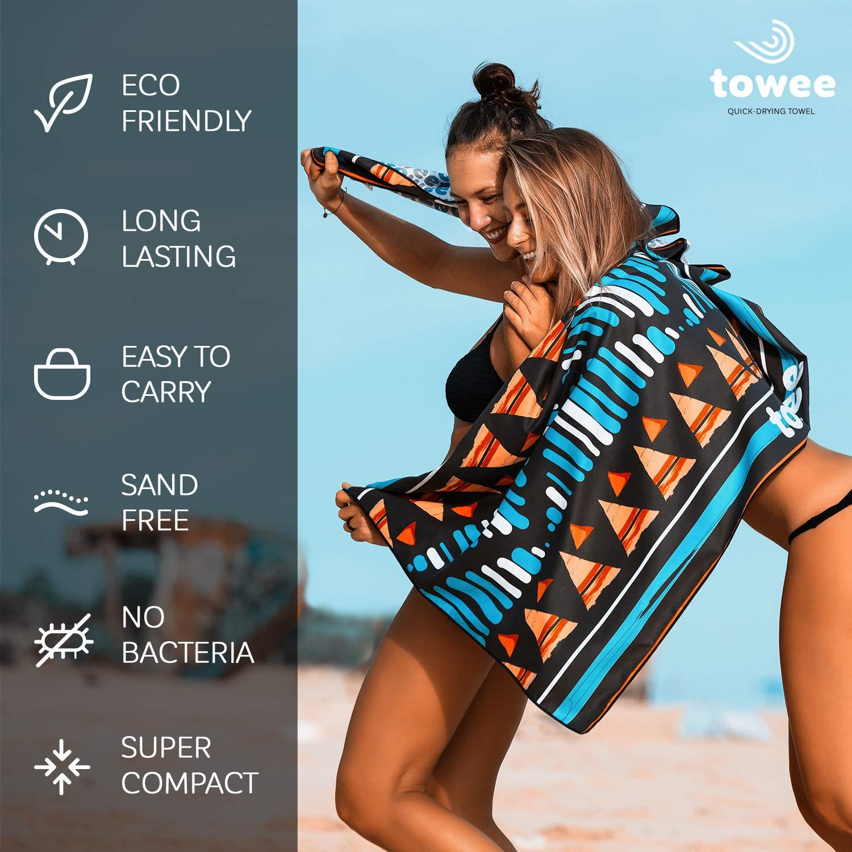 Duschtuch Indian Summer kompakt Sporthandtuch Towee Mikrofaser Handt/ücher Digitaldruck Ultraleight schnelltrocknend antibakteriell Reisehandtuch Badetuch