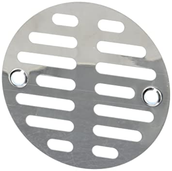 Good LASCO 03 1247 3 1/2 Inch With Two Screws Shower Drain
