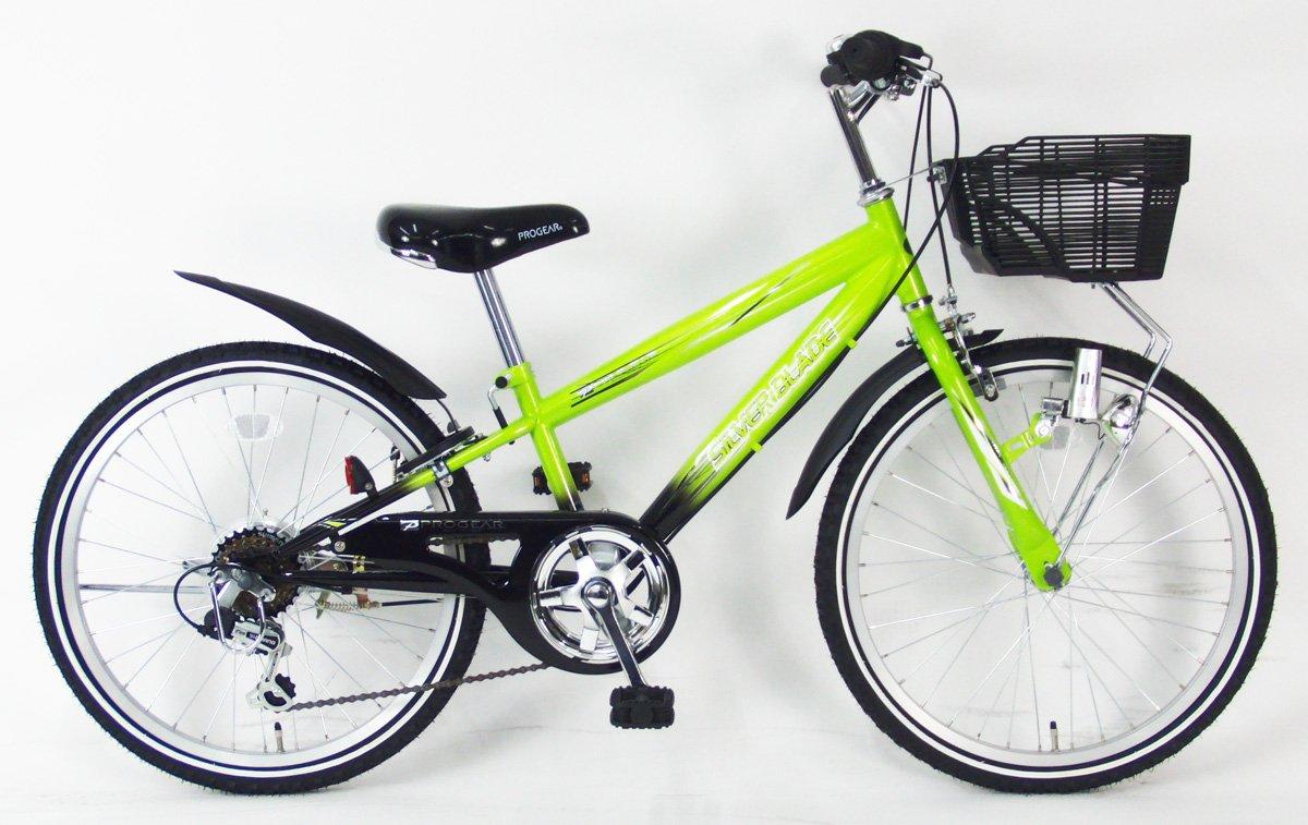 C.Dream(シードリーム) シルバーブレイド CTB46 24インチ 男の子向 子供自転車 グリーン 100%組立済み発送 B078YQ5Y6F