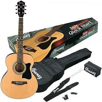 Ibanez VC50NJP-NT - Guitarra acústica, color marrón: Amazon.es ...