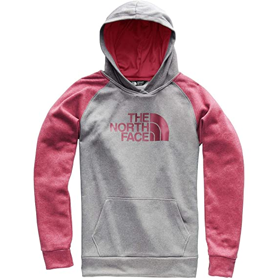 15460fc17 THE NORTH FACE Women's Fave Half Dome Pullover Hoodie: Amazon.co.uk ...