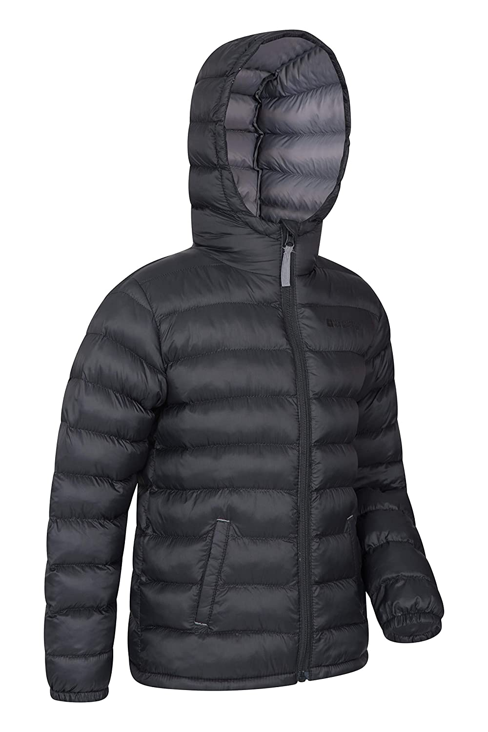 0f75b6af9 Mountain Warehouse Seasons Boys Padded Jacket - Water Resistant Rain ...