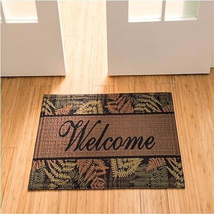 QIANMO Colchones Carpet en los colchones alfombras Antideslizante Alfombrillas de baño Cocina Baño Mats, 75