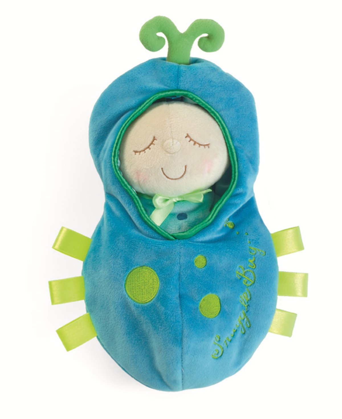 Manhattan Toy Snuggle Pod Lil Peanut First Baby Doll with Cozy Sleep Sack for Ages 6 Months and Up
