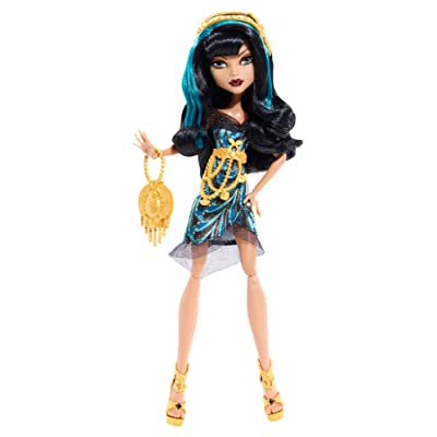 Monster High Frights, Camera, Action! Black Carpet Cleo de Nile Doll: Toys & Games