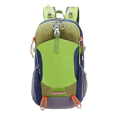 Ultra-robust Leicht Pauschalreisen Rucksack Wandern Tagesrucksack Leichte Outdoor-Reisen Camping Fahrrad Männer Und Frauen Rucksack.,Green-36*20*58cm Yy.f handbags