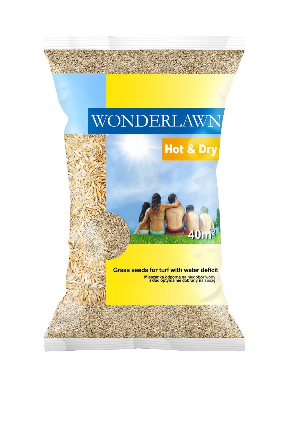 Barenbrug Wonderlawn Hot & Dry 25kg für Trockenlagen Rasensamen Grassamen Rasensaat