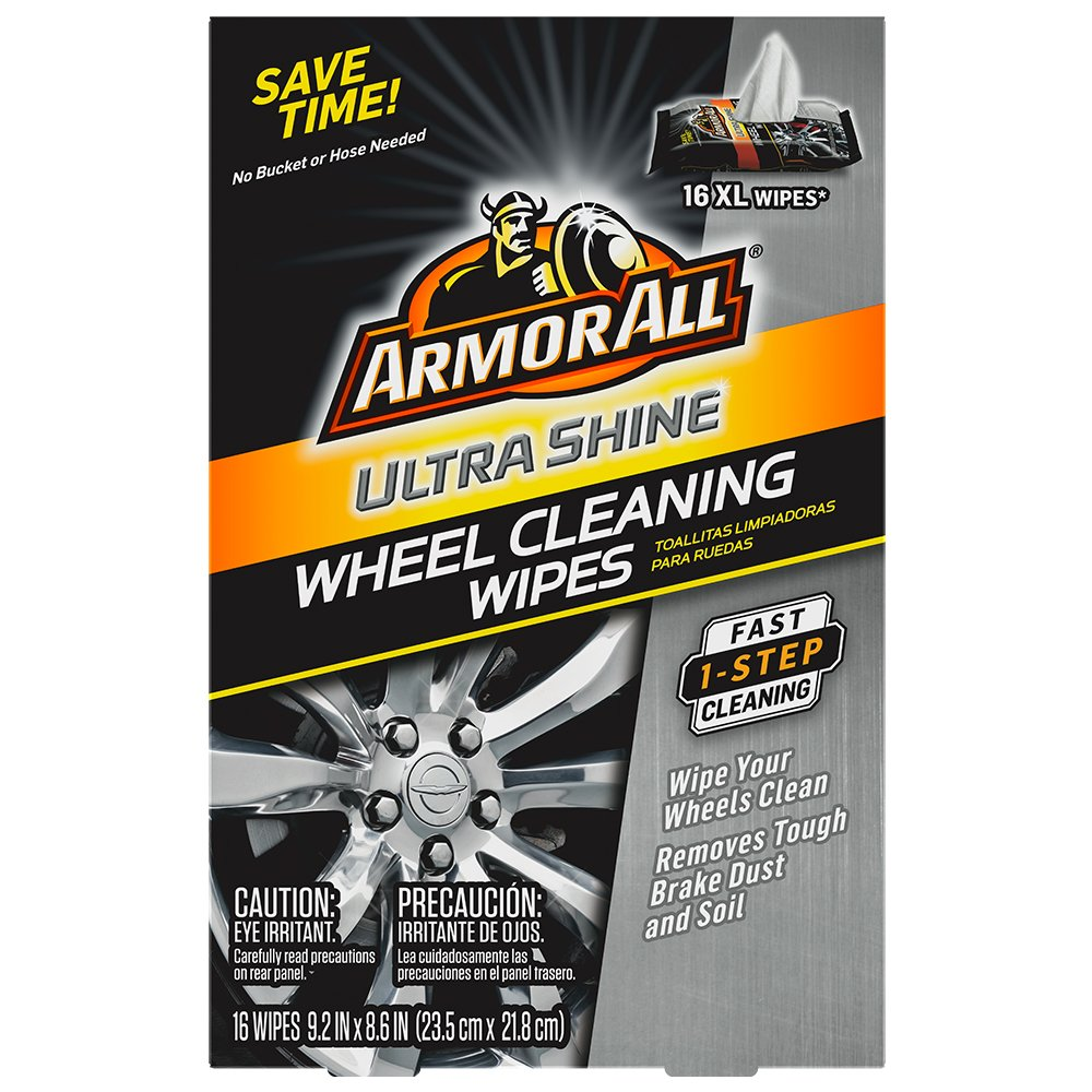 Amazon.com: Armor All Ultra Shine Wheel Cleaning Wipes (16 count): Automotive