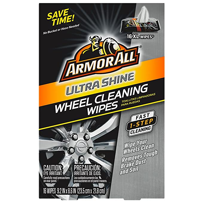 Amazon.com: Armor All Ultra Shine Wheel Cleaning Wipes (16 count), , 1 Pack: Automotive