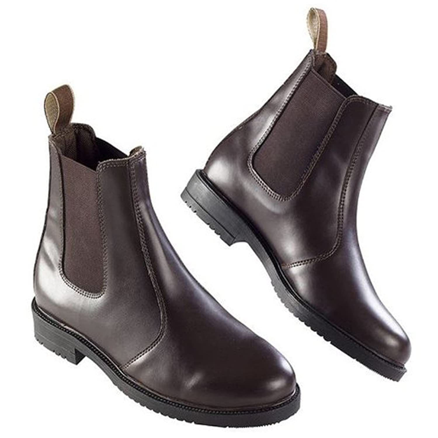 Ekkia Horse Riding Jumping Kids Adults Equi Leather Stable Yard Jodhpur Boots
