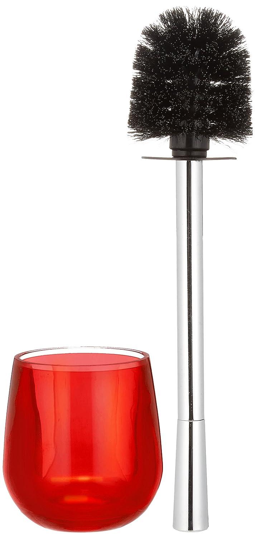 Wenko Monaco Toilet Brush Set, Red 21070100