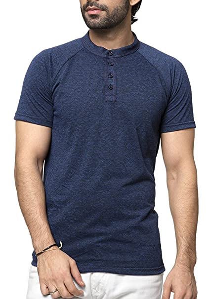 7d4aa45cdc8 ZEYO Men s Cotton Plain T-Shirt  Amazon.in  Clothing   Accessories
