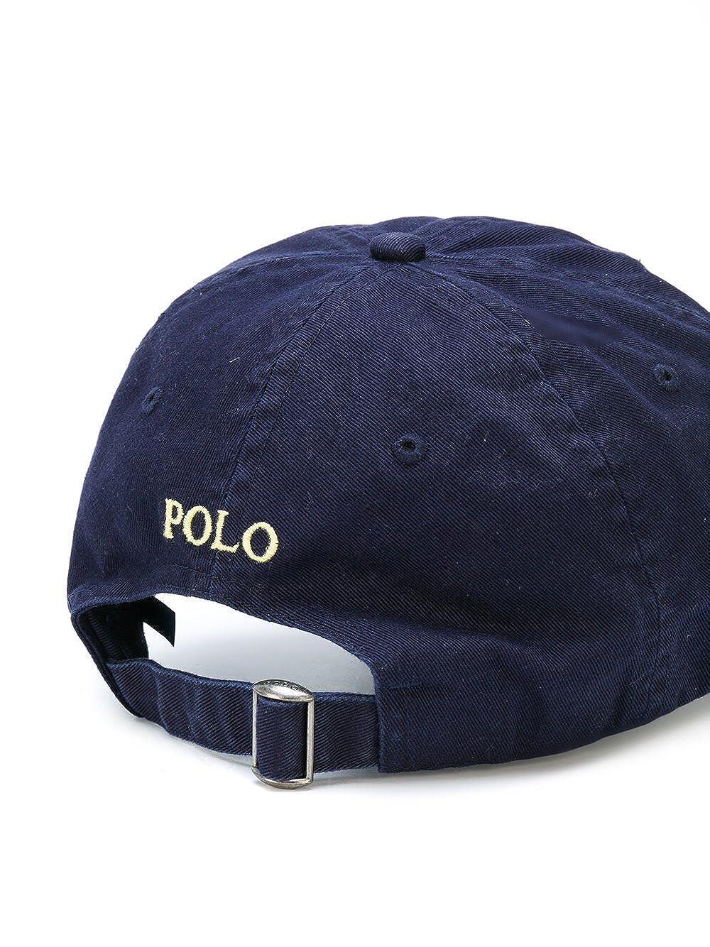Polo Ralph Lauren Hat Gorra clásica Sombrero Hombre (BLU Navy): Amazon.es: Ropa y accesorios