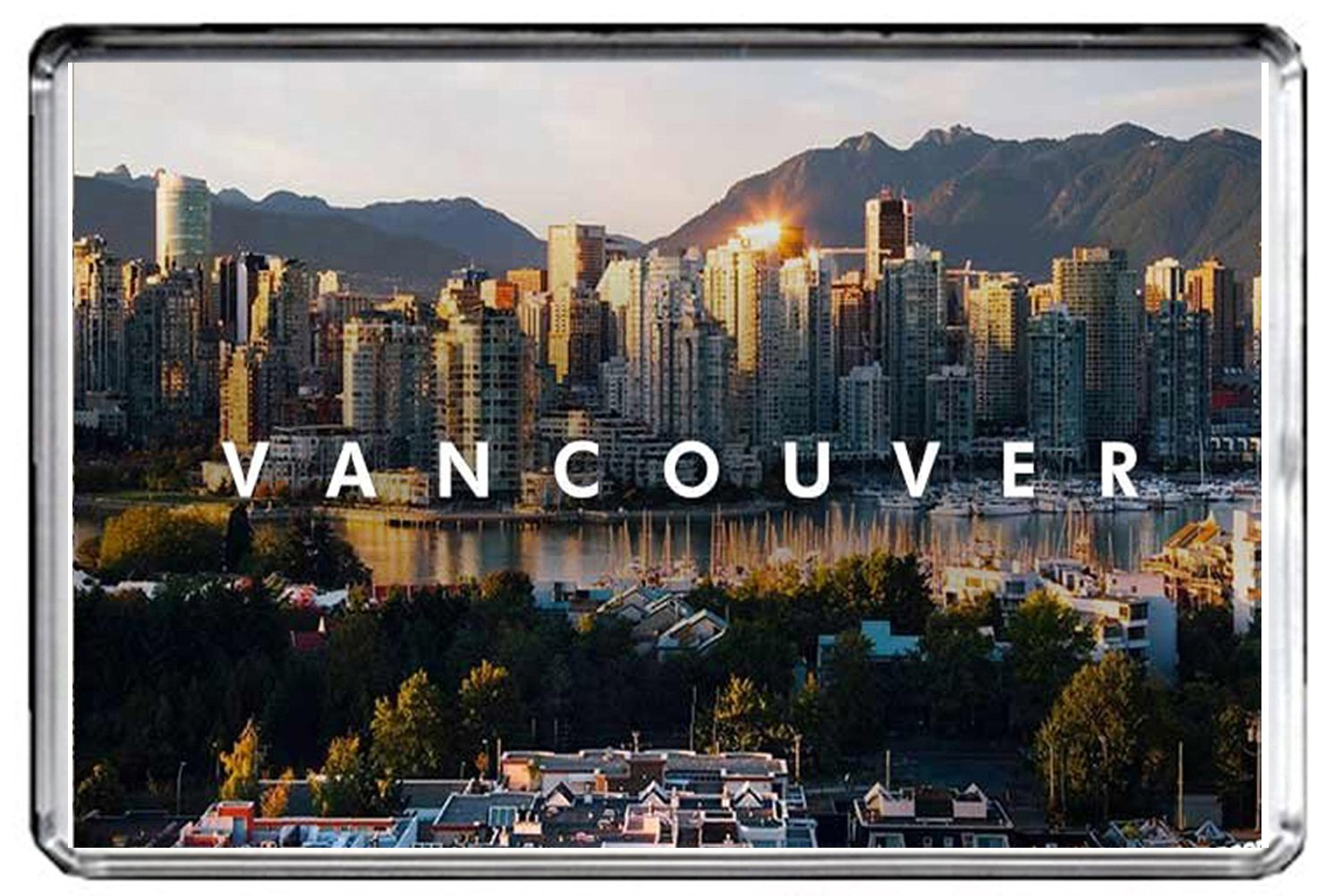 E046 VANCOUVER FRIDGE MAGNET CANADA TRAVEL PHOTO REFRIGERATOR MAGNET GIFTSCITY