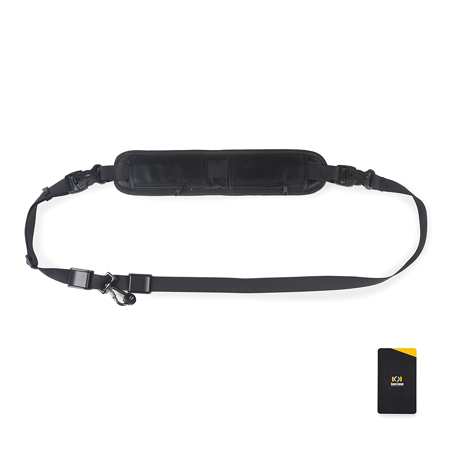 Double Zippered Rapid Fire Camera Shoulder Strap Quick Release