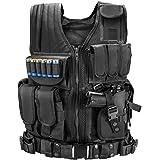 Marmot Tactical Vest Durable Mesh Vest with Detachable Belt & Holster for Subcompact/Compact/Standard Pistol - XL