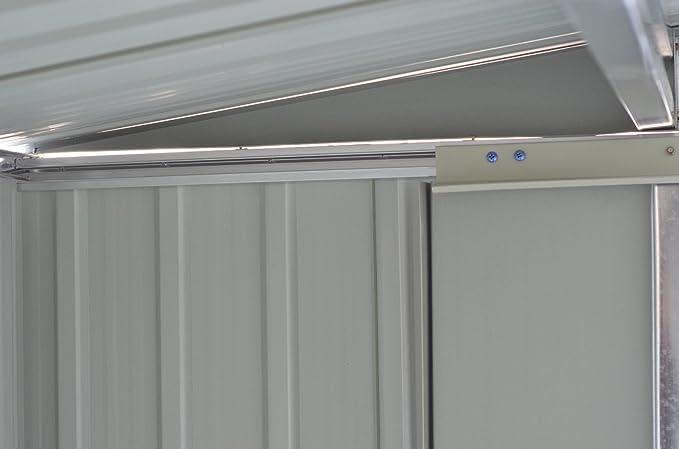 GOPLUS - Cobertizo de Almacenamiento de Acero galvanizado para ...